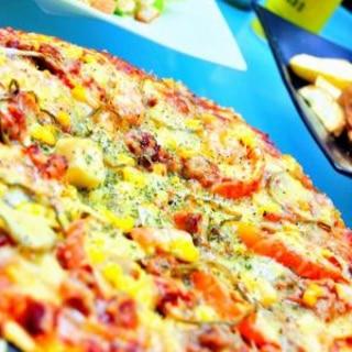 HB☆基本のモチモチピザ生地☆