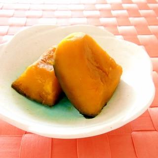 冷凍かぼちゃとレンジで簡単♪かぼちゃの煮物
