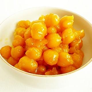 ひよこ豆の甘露煮