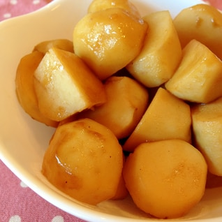 昔ながらの*里芋の煮っころがし
