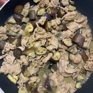 めちゃめちゃゴハンがすすむ!茄子と豚肉の味噌炒め