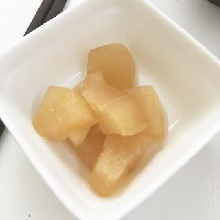 レンジで簡単、冬瓜の煮物