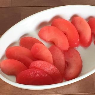 真っ赤なリンゴちゃん♫天然の色なのに真っ赤っか❣️