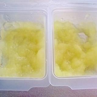 離乳食中期 りんごのクタクタ煮