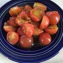 プチトマトのおかかサラダ♪