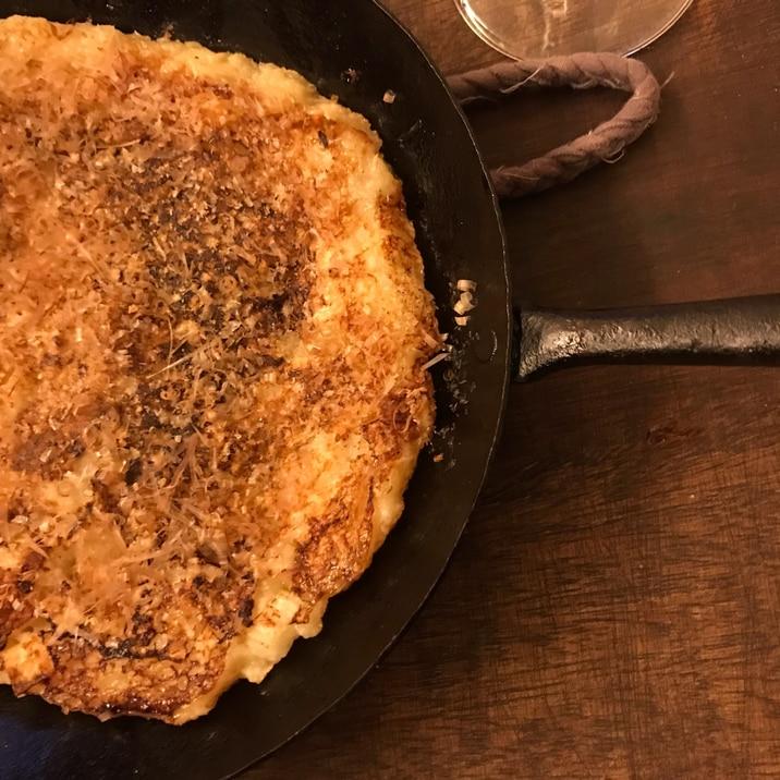 焼くだけ!で本当に美味しい長芋ステーキ!材料2つ
