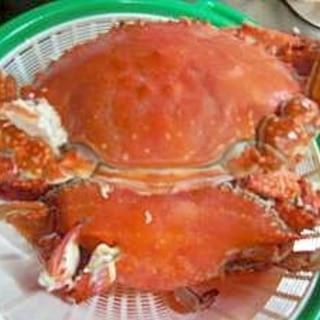 茹で渡り蟹