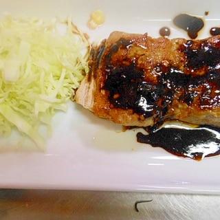 ☆豚ヒレ肉のステーキ(醤油バター)☆
