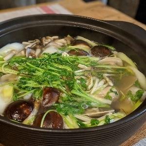 仙台名物★せり鍋