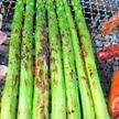 バーベキューの野菜料理
