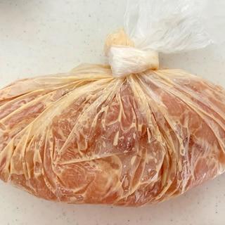 下味冷凍☆ササミのマヨポン
