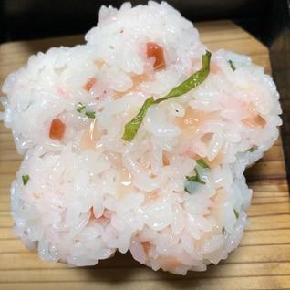 ピンクの薬味寿司