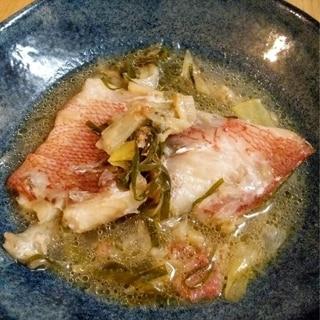 ナンプラーと香味野菜で♡白身魚のエスニックスープ煮