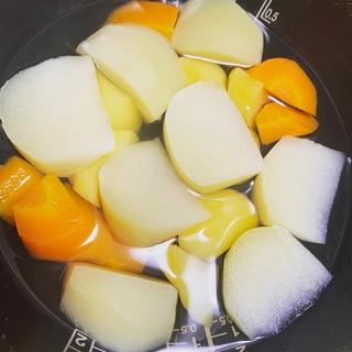 炊飯器で☆簡単離乳食野菜