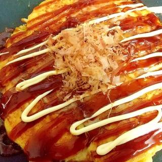ホットプレートで♡キャベツ焼き*大豆粉*山芋