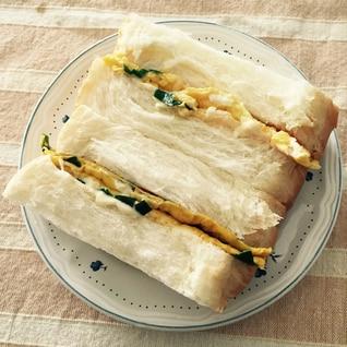 ニラ玉サンドイッチ