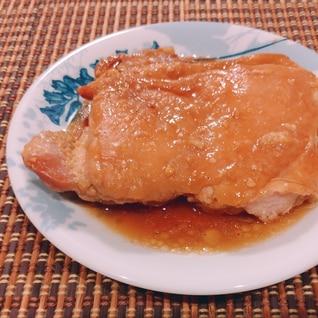 鶏もも肉の味噌ホイル焼き