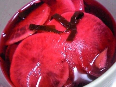 トロ~リDE鮮やか♡赤かぶのお漬けもの♡