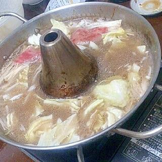旨みたっぷり☆鰹スープでしゃぶしゃぶ
