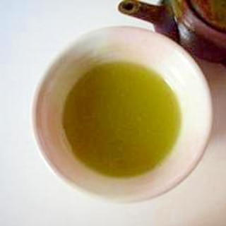 片栗粉で、新茶(緑茶)のくず湯(全工程写真あり)