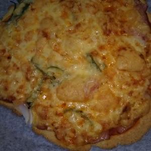 【糖質制限】もちもち♡おからのピザパン