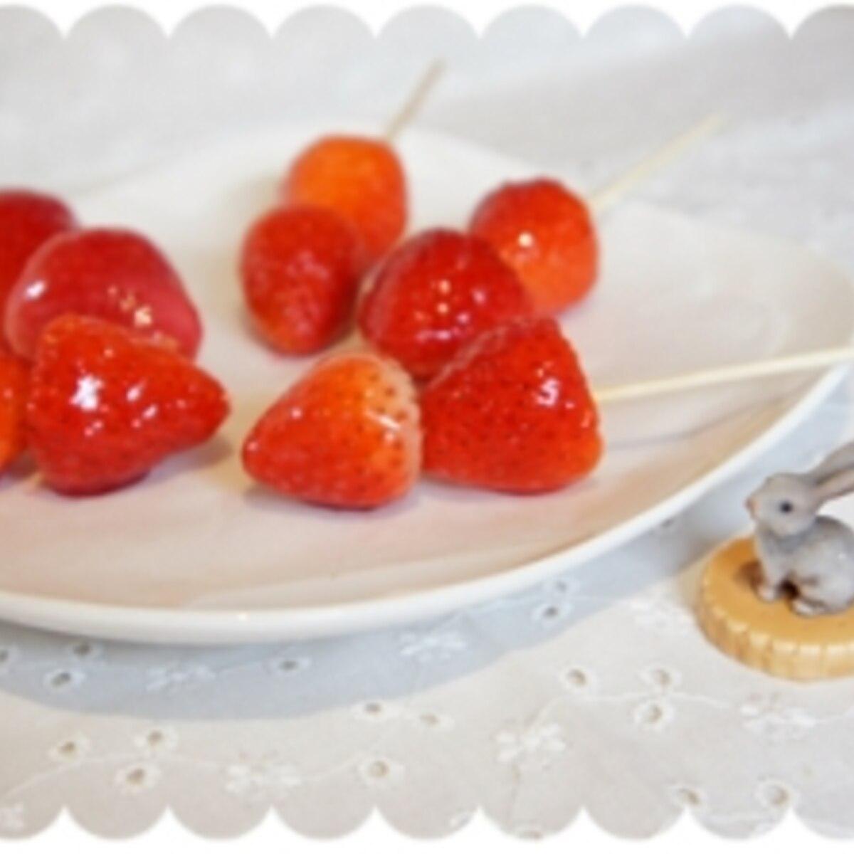 イチゴ 飴 の 作り方