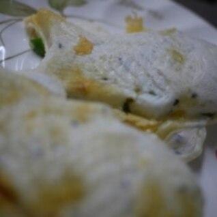 食事にぴったり☆ベジチーズ鯛焼き