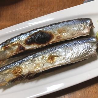 秋の味覚!ふっくら秋刀魚の塩焼き