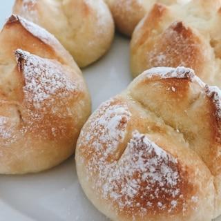 HBで簡単ふんわりバターパン♡