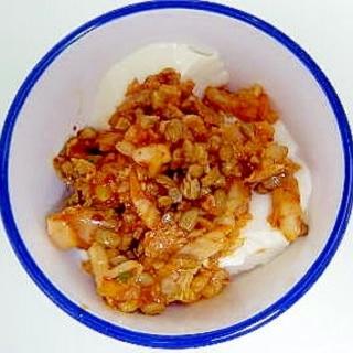 納豆キムチ豆腐