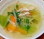 ささみともやしのスープ