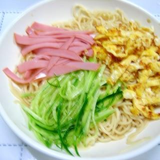 基本の三種類の具材で作る冷麺