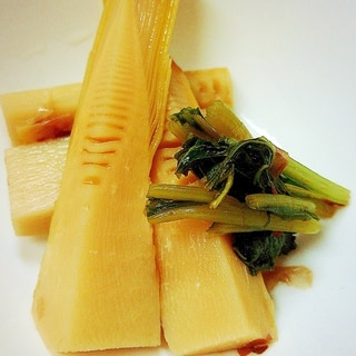 竹の子と蕗の葉の春煮物