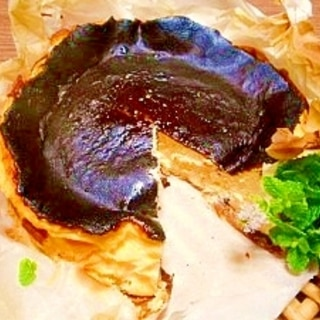 バスク風☆チーズケーキ