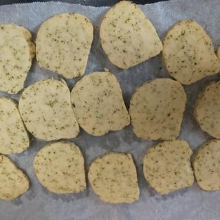 緑茶クッキー(* ´ ▽ ` *)ノ