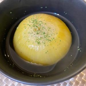 電気圧力鍋で超簡単★玉ねぎ丸ごとスープ
