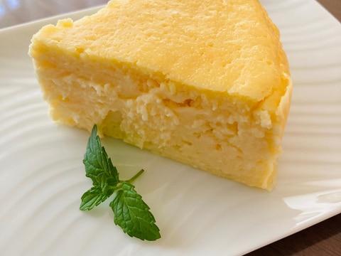 生クリームなしで♡濃厚ベイクドチーズケーキ