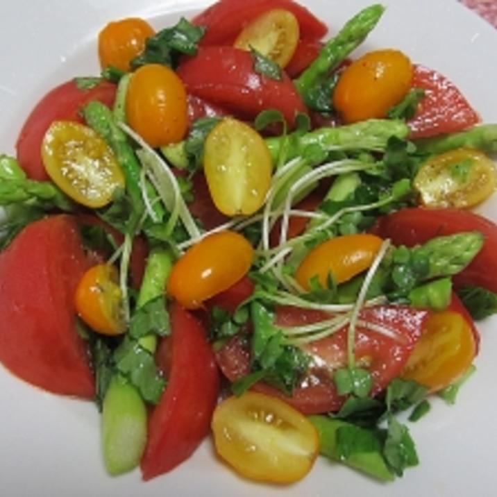 完熟トマトの彩り♪イタリアンサラダ