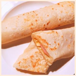 簡単♡もちもちブリトー(トルティーヤ)生地レシピ