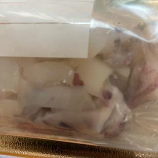 イカの冷凍保存