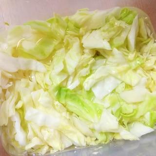 ●簡単&ほぼ放置♪塩辛すぎるお漬物の修正方法●