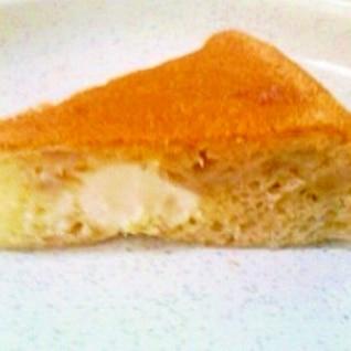 炊飯器でクリームチーズ入りバナナパン