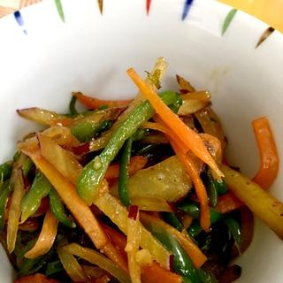 色々野菜のきんぴら♪