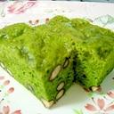 ふんわり美味しい☆抹茶と黒豆の蒸しパン