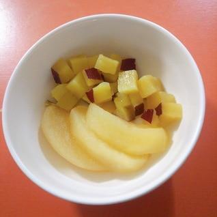 さつま芋とりんご煮☆
