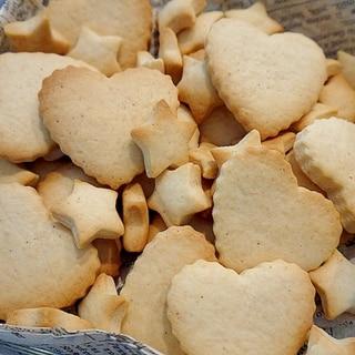 バターと卵なしでできる♪簡単クッキー