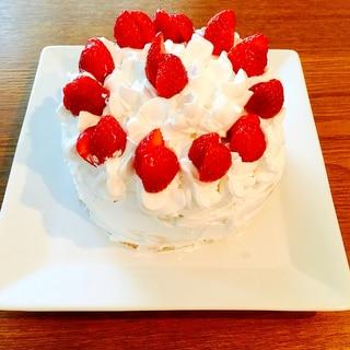 ホットケーキミックスで作る簡単なスポンジ生地