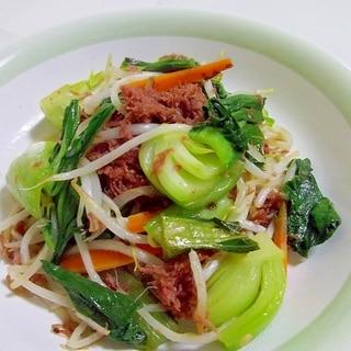 ノンオイル♪コンビーフde野菜炒め