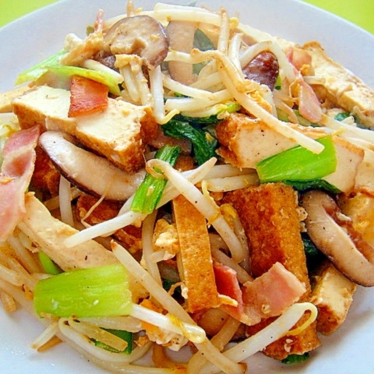 揚げ 人気 厚 小松菜 レシピ 小松菜と厚揚げのオイスター炒め 作り方・レシピ