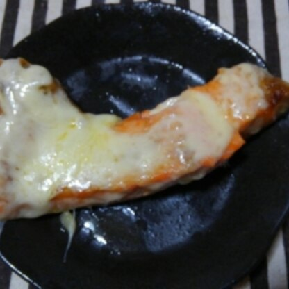 鮭も好きだしチーズも好きなので美味しくいただきました♡本当に良い組み合わせですね(*^-^*)ご馳走様でした♪